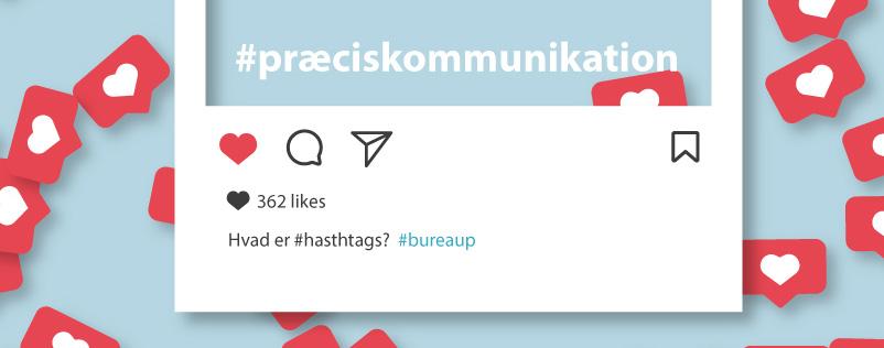 Hvordan bruger du #hashtags på de sociale medier?